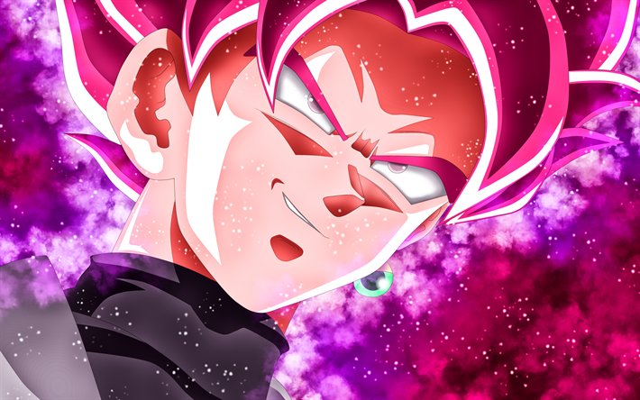 Download Wallpapers Super Saiyan Rose 4k Close Up Dragon Ball Super Goku Black Dbs Dragon Ball Ssr Black Besthqwallpapers Com Super Saiyan Rose Goku Black Super Saiyan Goku Black