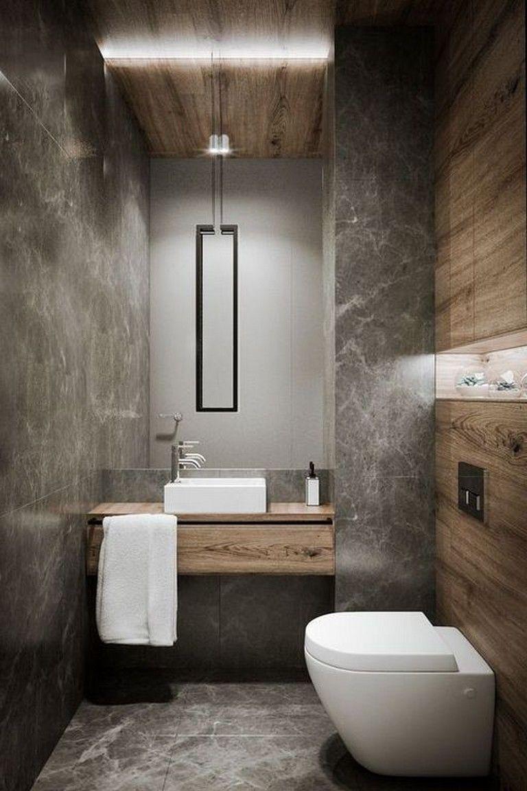 19 Stunning Plywood Bathroom Wall Design Ideas Modern House Modern Bathroom Design Small Bathroom Remodel Toilet Design
