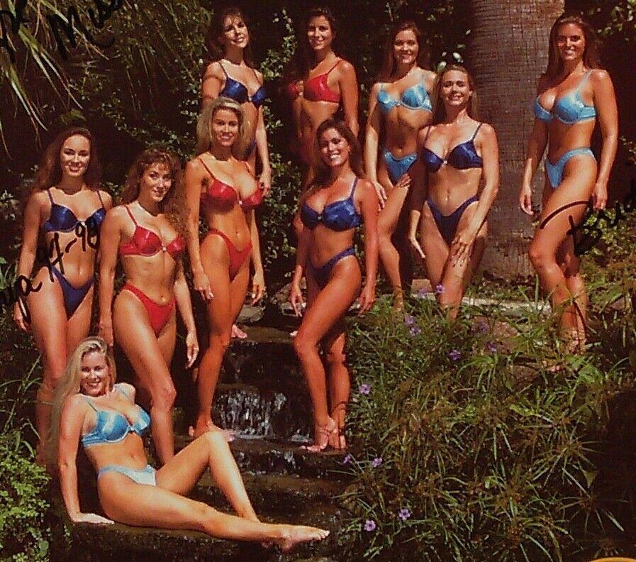 99 5 Kiss Rocks San Antonio Kiss Miss Team 1998 Miller Lite