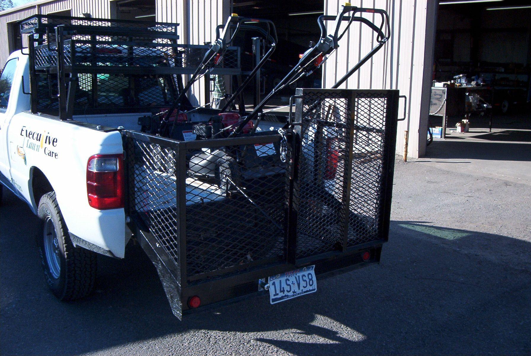 Ron 0021 Jpg 1 792 1 200 Pixels Lawn Trailer Custom Truck Beds