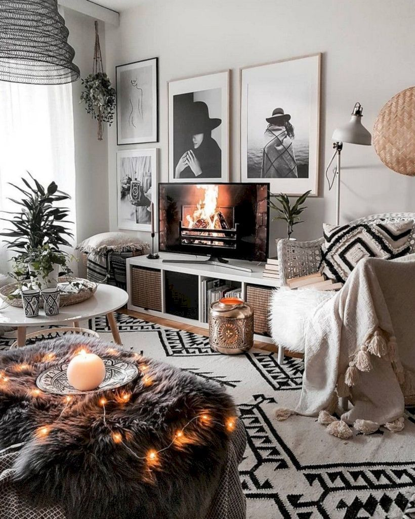 49 Fabulous Tv Stand Decor Ideas For Living Room Boho Chic