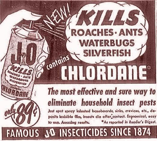 Summer Solutions For Pests Yard Work More: Chlordane - Famous Insecticide