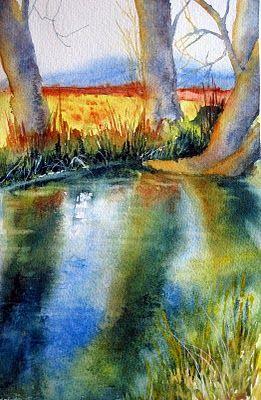 Trees Cristina Dalla Valentina Eau Vive Et Aquarelle