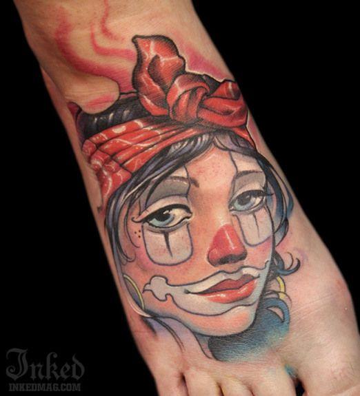 Victor Chil Inked Magazine Tattoos Girly Tattoos Foot Tattoos