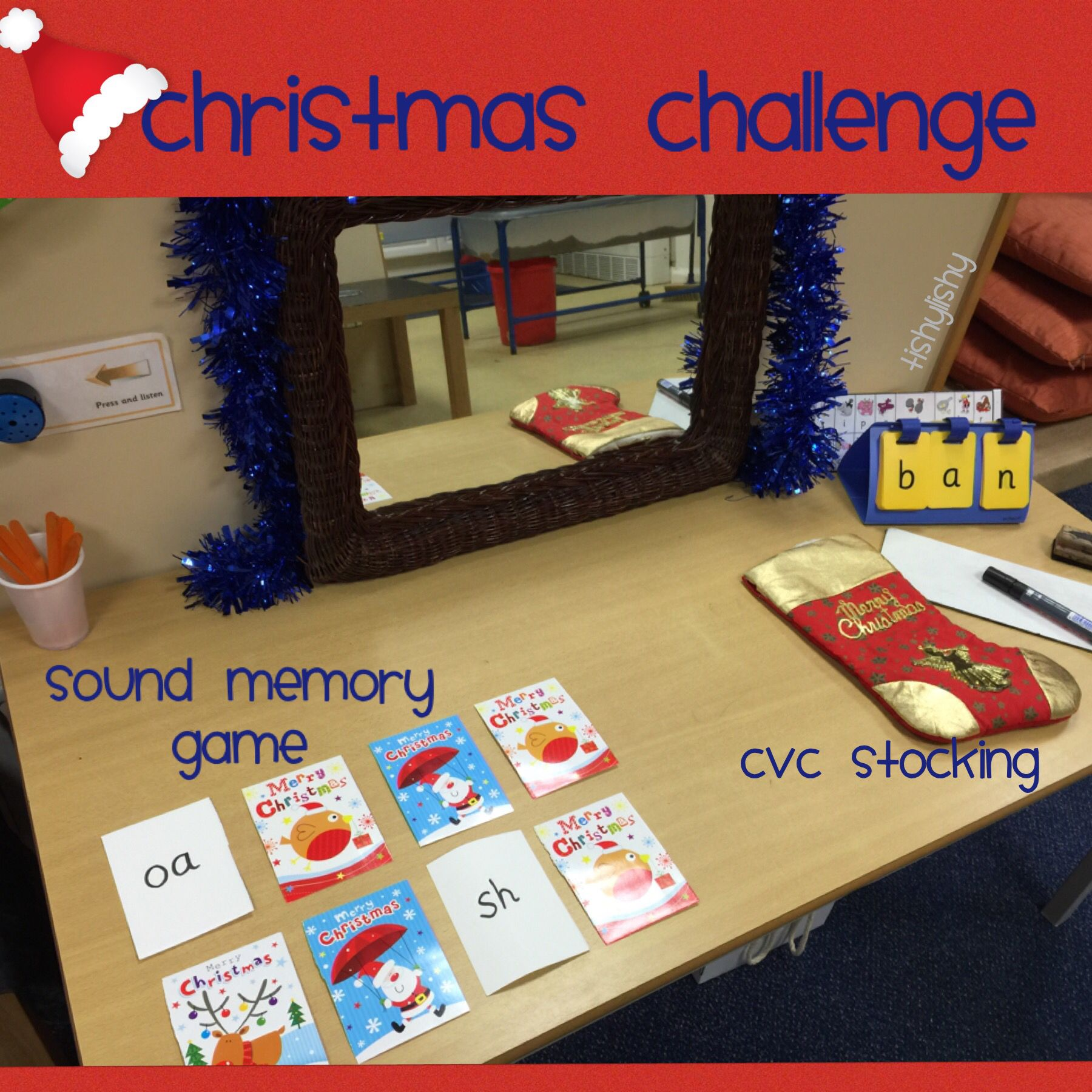 Activities On The Phonic Table Using Christmas Cards For A Memory Game Could Be Used For Snap