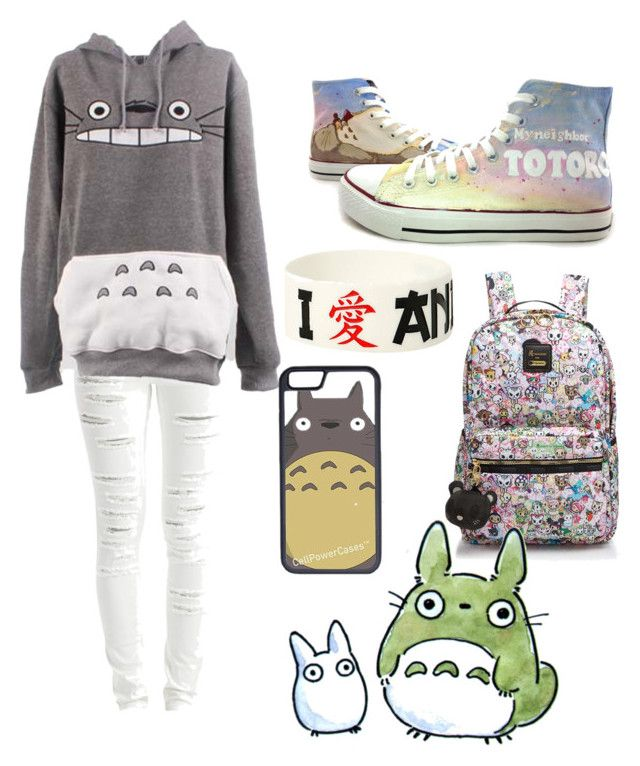 """""""totoro"""" by its-common-sense ❤ liked on Polyvore featuring art"""