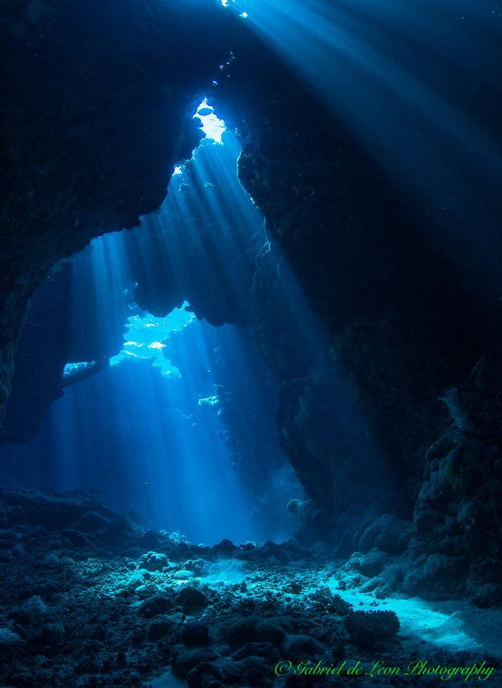 Of oceans penetration surface the light