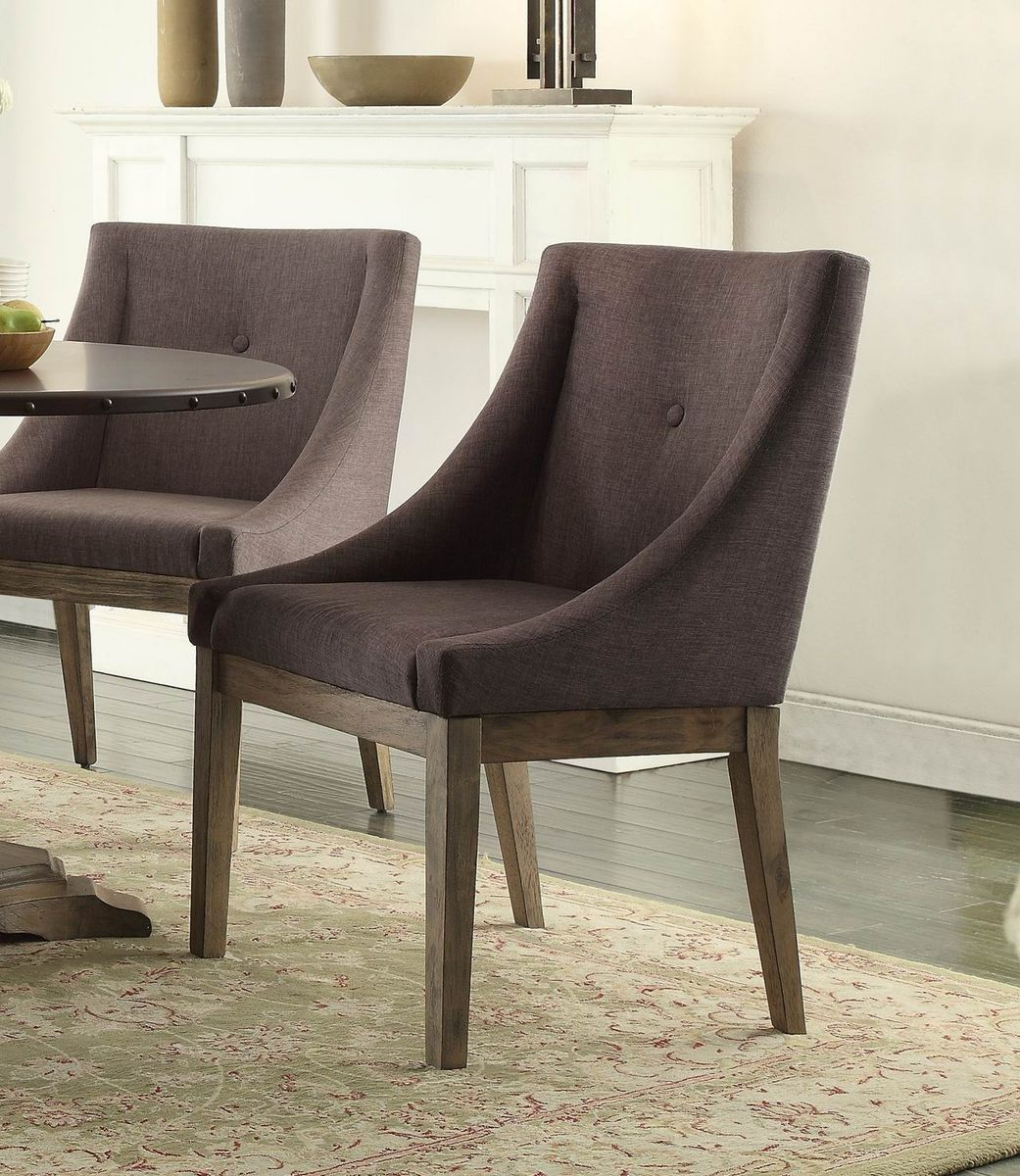 Anna Claire Collection Curved Arm Chair 5428S3 Creating a