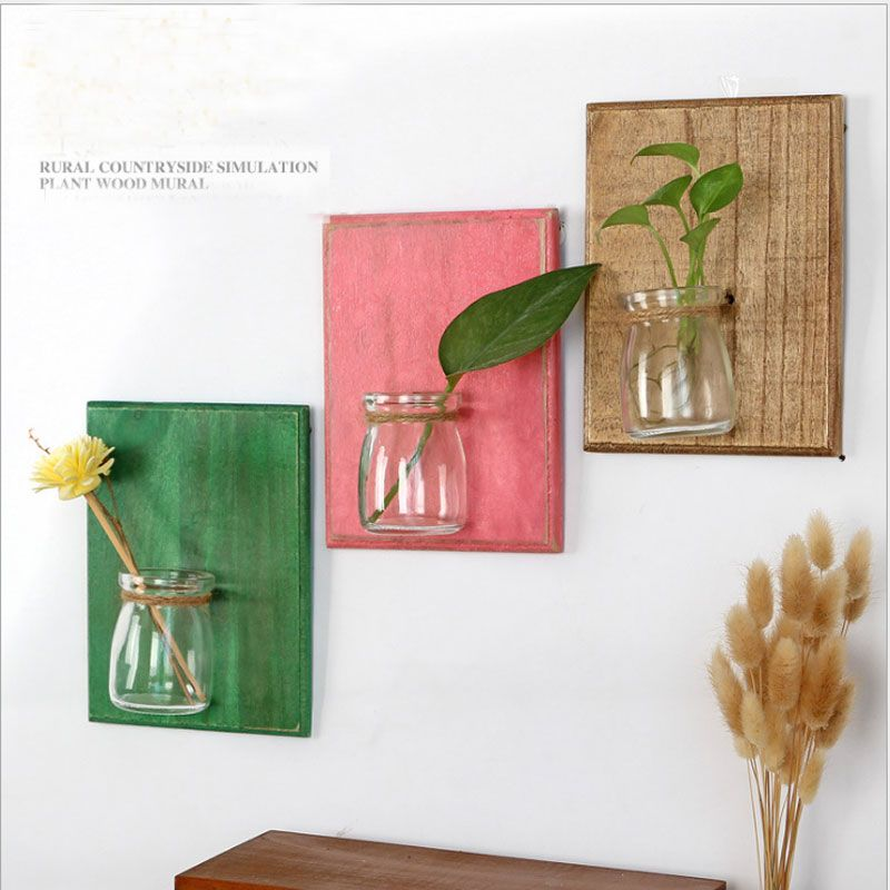Flower Pot Hanging Wall Mount Planters Container Diy Home Decor Inexpensive Home Decor Affordable Decor Home Wedding Decorations
