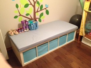 Expedit Changing Table Cooper Gray Diy Changing Table