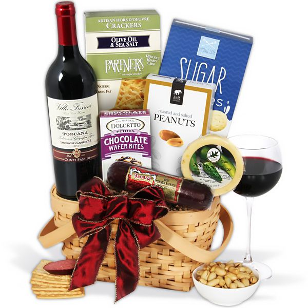 Classic red wine gift basket red wines classic red wine gift basket negle Image collections