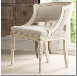 Perfect This Gustavian Reproduction Is Great. Super Chic, Would Great Guest Chairs  In An Office Or Around The Dining Table.