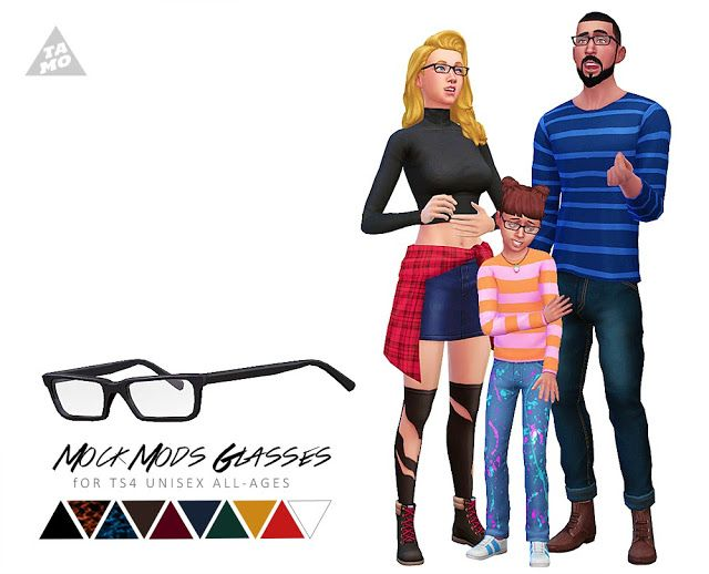 tamo: [TS4] Mock Mods Glasses | Sims 4 CC - Accessories