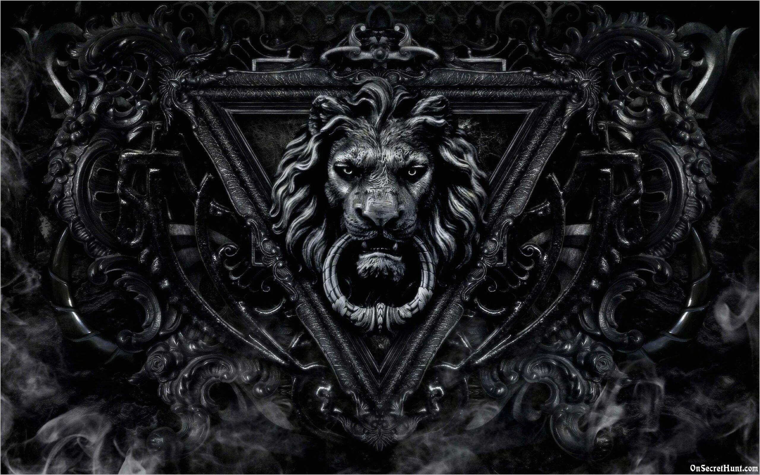 Black Lion Wallpaper 4k Lion Wallpaper Lion Black Lion