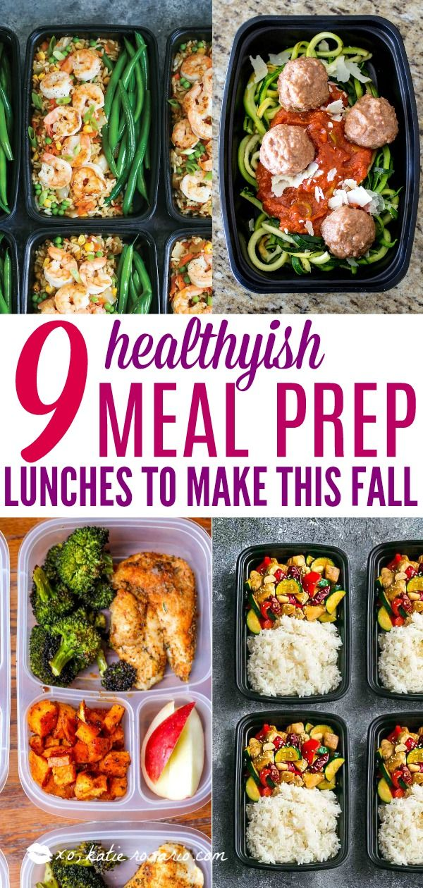 9 Easy Meal Prep Lunches to Make This Fall images