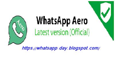 تحميل تحديث واتساب ايرور برو 2020 download whatsapp aero