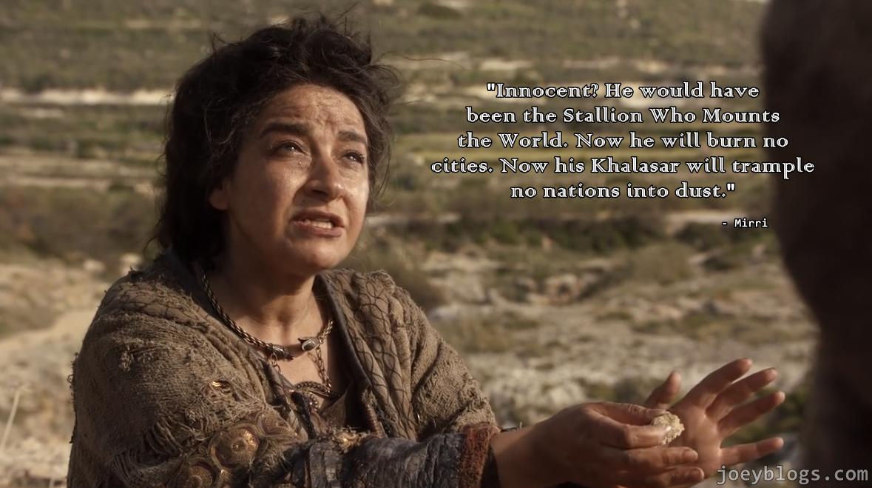 Game Of Thrones Summary Season 1 Episode 10 Joey Blogs