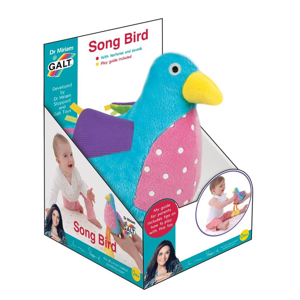 Taf toys car seat toy  Sweet String Toy With Hanging Little Birds  Newborn baby toys