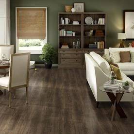 Project Source Woodfin Oak 7 59 In W X 4 23 Ft L Embossed Wood Plank Laminate Flooring At Lowes