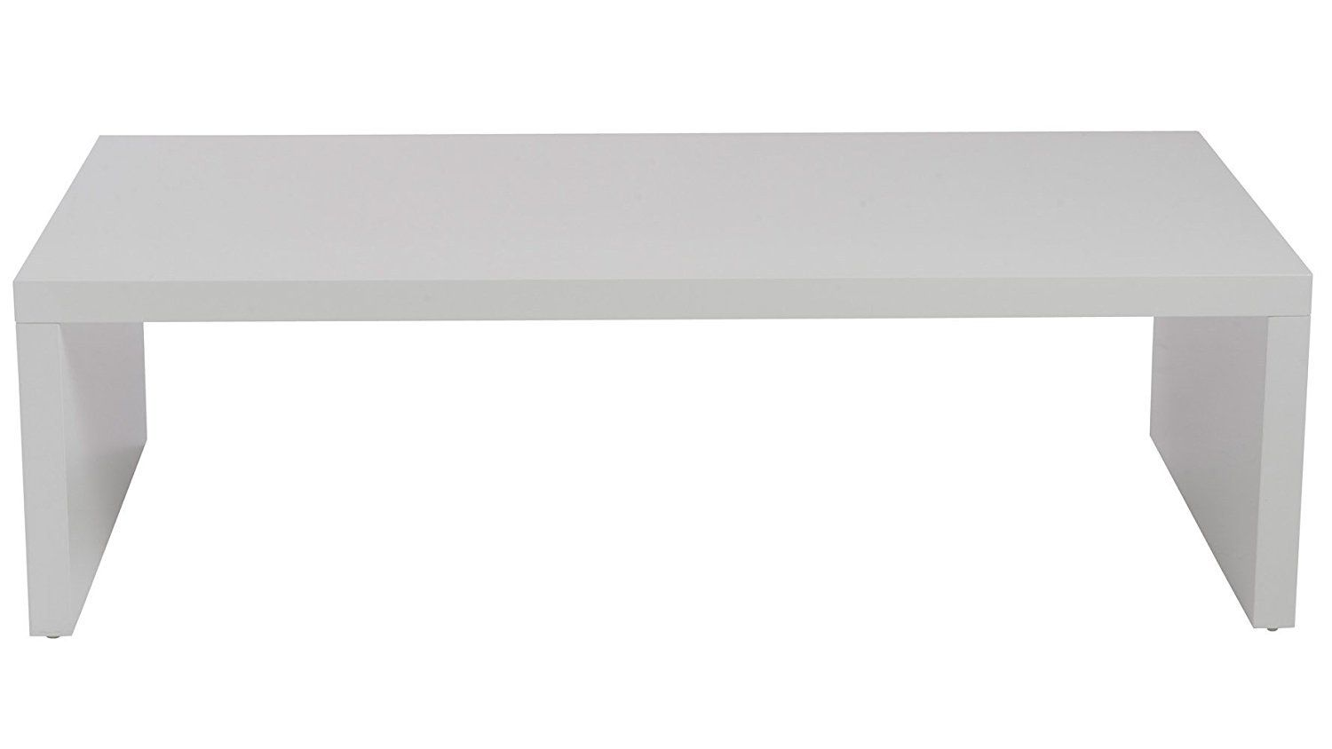 High Gloss White Lacquer Coffee Table Contemporary Coffee Table