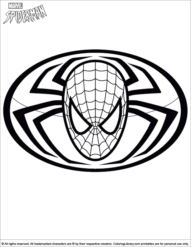 Spider Man Coloring Picture Spiderman Cartoon Coloring Pages Coloring Pages