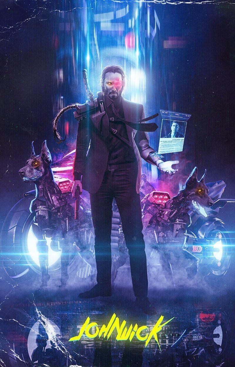 John Wick 2077 cyberpunkgame Cyberpunk 2077, Cyberpunk
