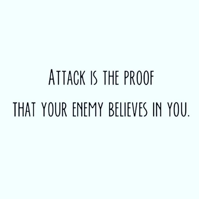 The Bigger The Attack The Bigger The Blessing On The Way If Your Feeling Like You Re Under Attack It S Beca Enemies Quotes Inspirational Bible Quotes Quotes