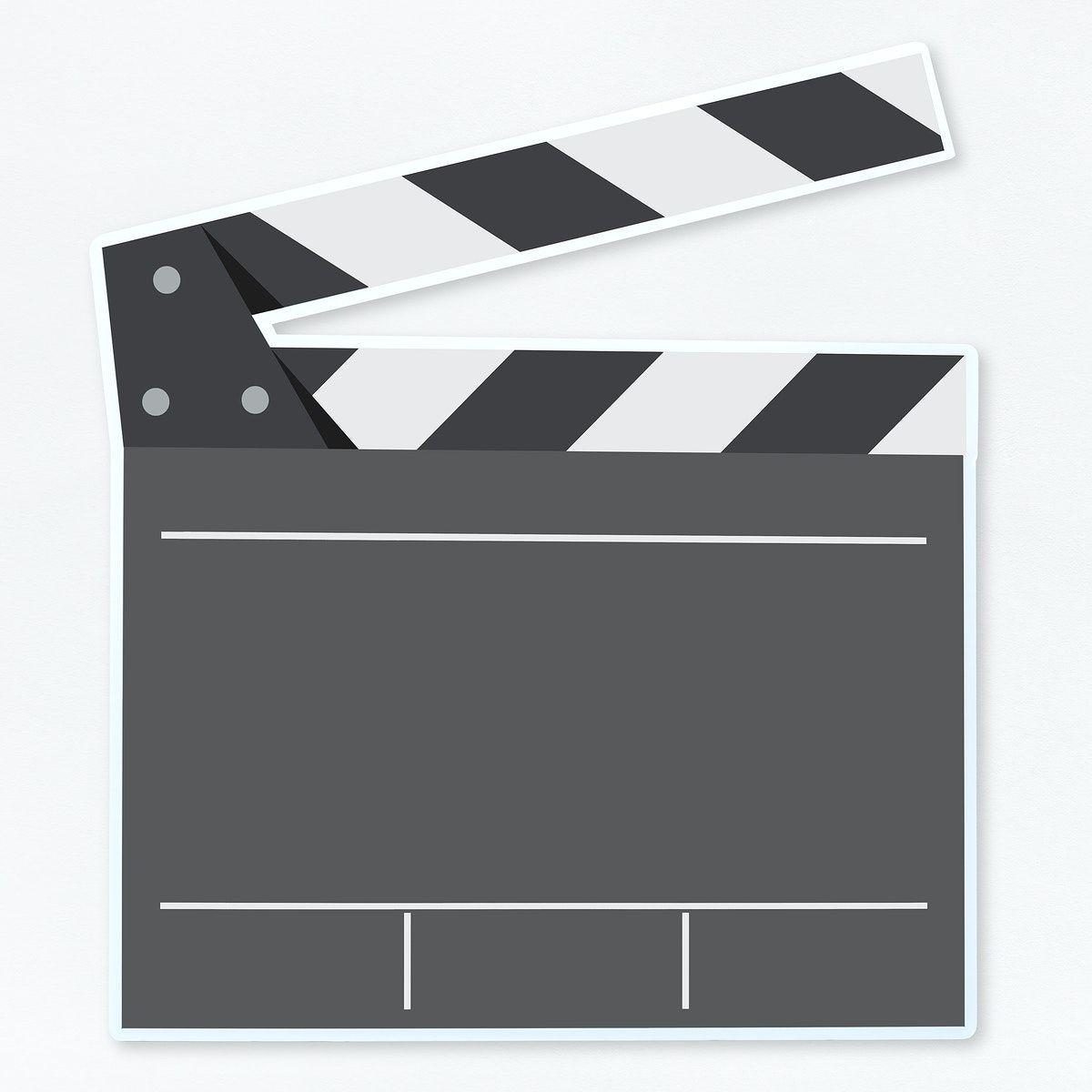 Download Premium Psd Of Film Clapper Board Illustration Illustration 475855 Camera Icon Illustration Film