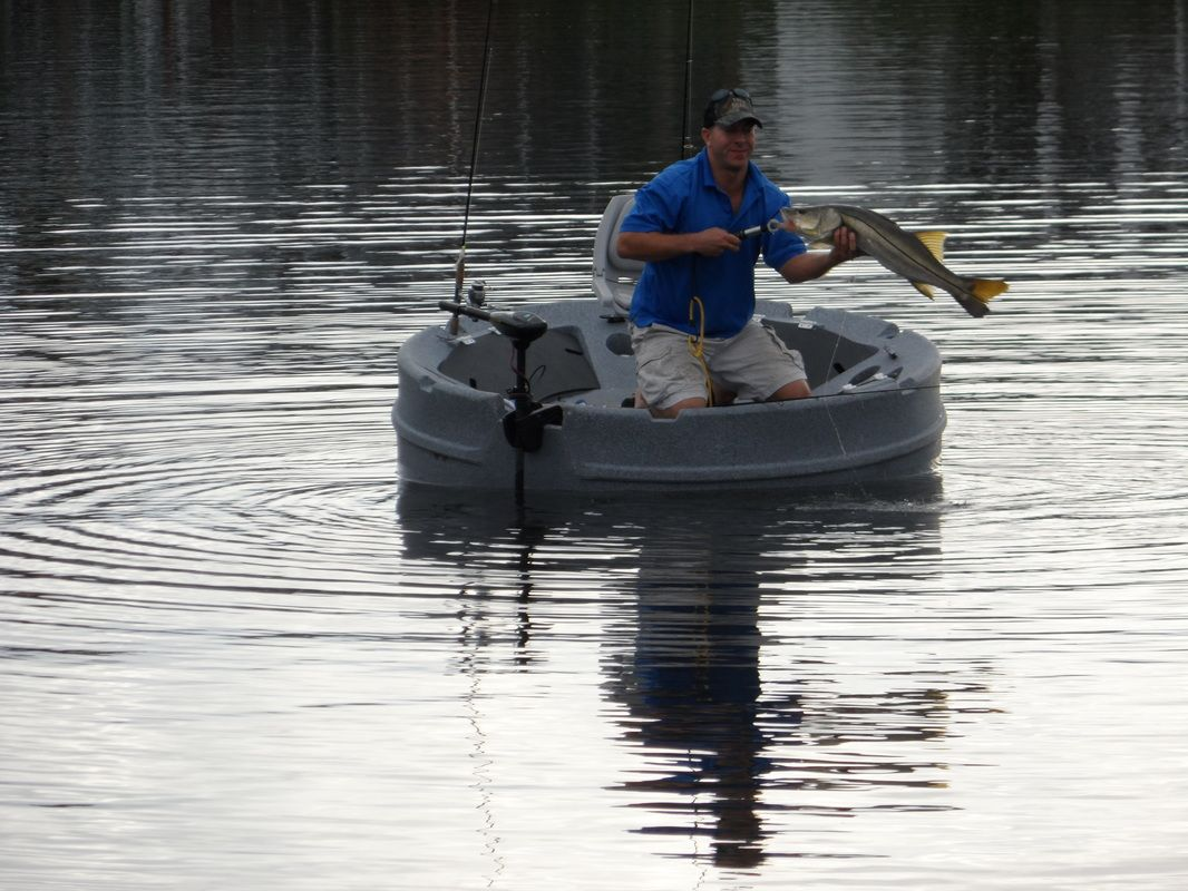 Nice speckled trout caught on the Ultraskiff 360