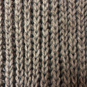 Visuellement, les côtes perlées sont un point de tricot qui ressemble aux  côtes 1  fbcd30b5406