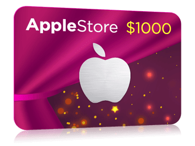 $1000 Apple Store Gift Card! | Popsockets, Store, Cards