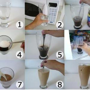 أختارنا لك من المطبخ طريقة صنع القهوة المثلجة بالصور و الخطوات Ice Coffee Recipe How To Make Ice Coffee Iced Coffee