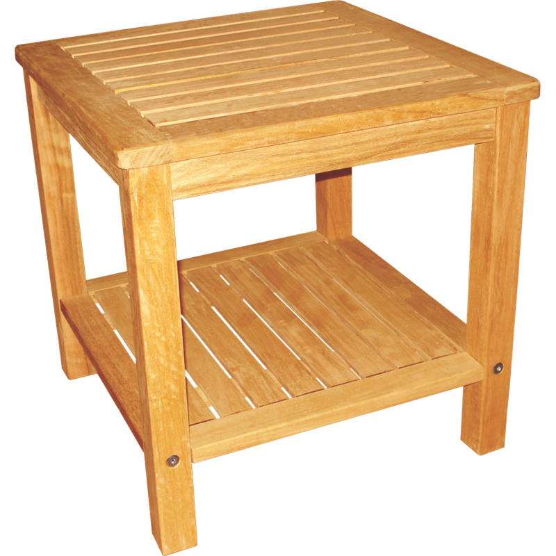 Mimosa 45cm Timber Side Table Outdoor coffee tables