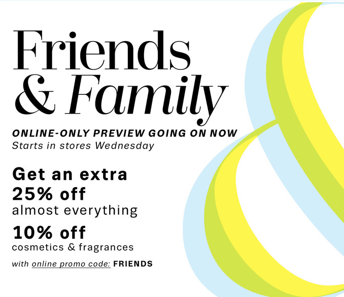 photo relating to Lord and Taylor Printable Coupon titled Lord Taylor Good friends Household Sale Structure No cost