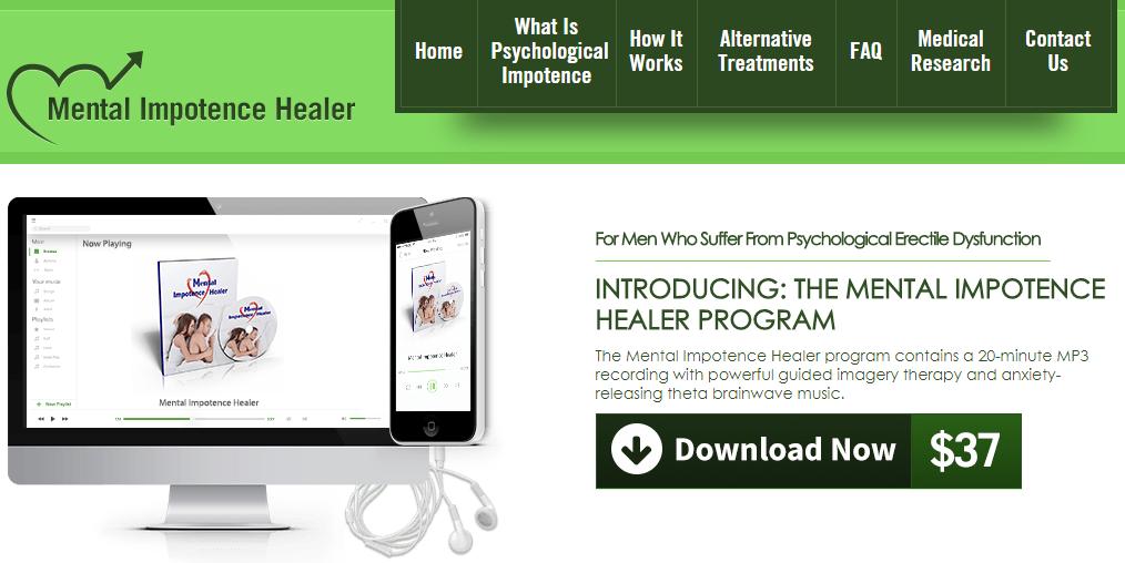 mental impotence healer program