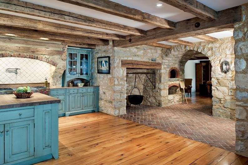 Primitive Colonial Inspired Kitchen Charm Of The Farm