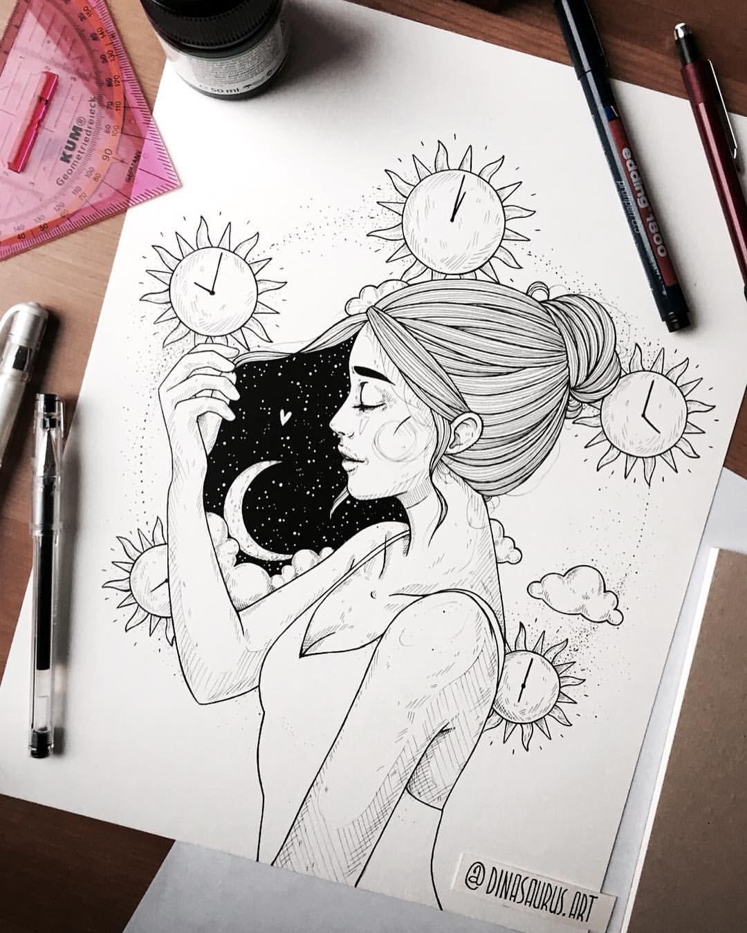 Dina Artist Dinasaurus Art Instagram Photos And