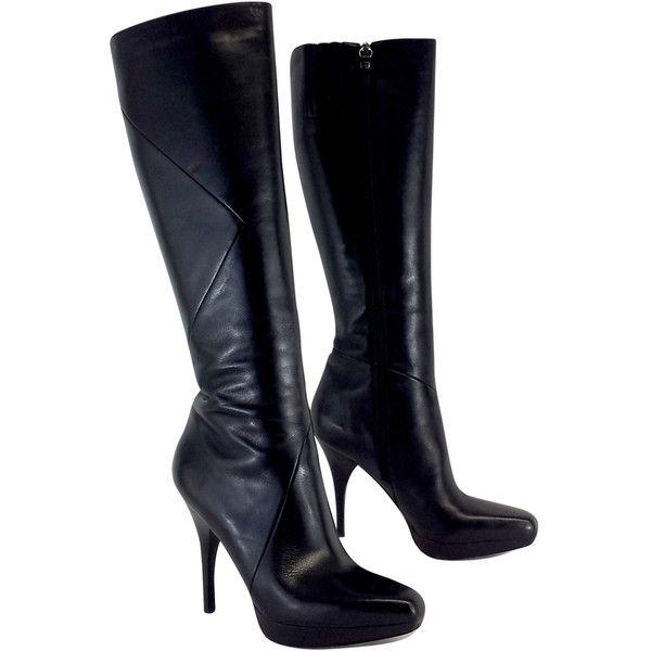 Pre-owned - Leather boots Via Spiga WxPYZ