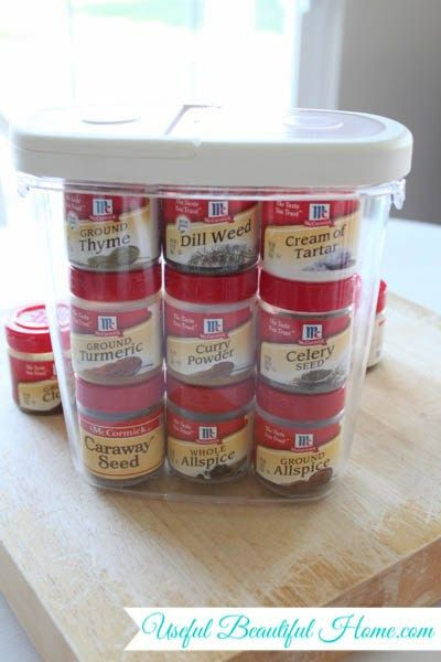 Small Space Storage Solution For Spices In Your Kitchen Small