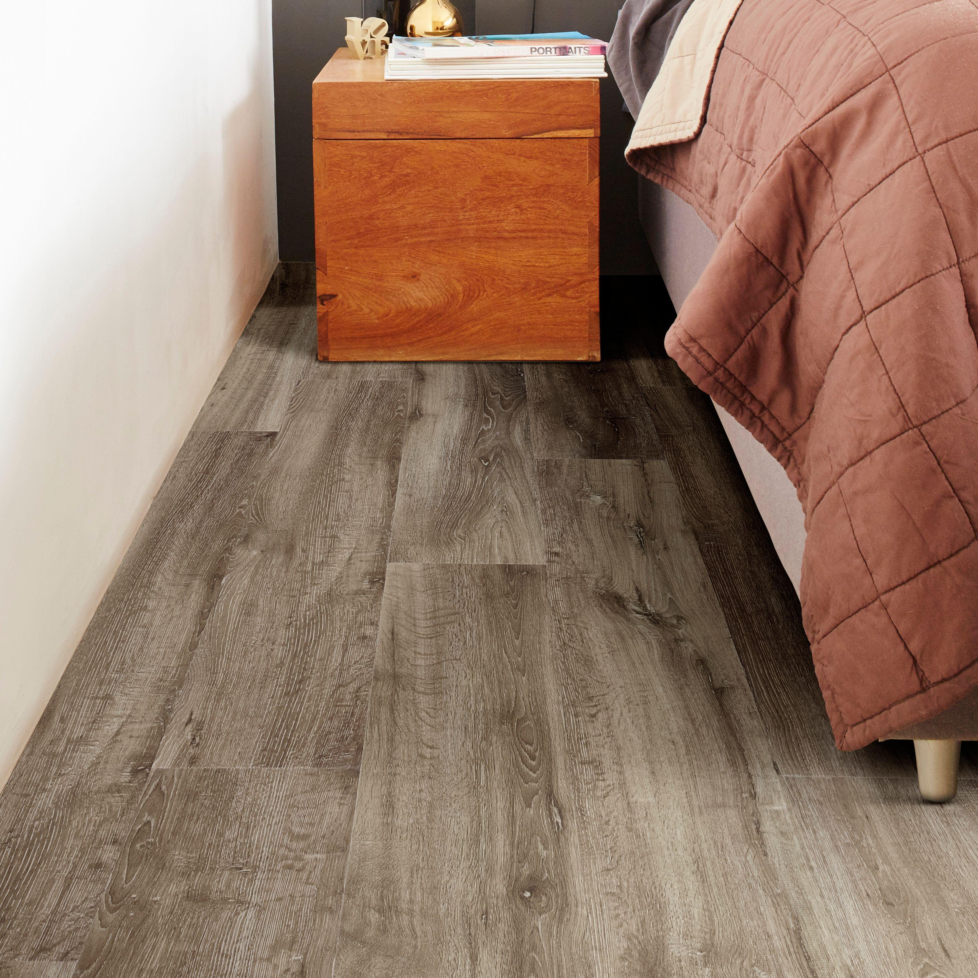 Lime Oak Waterproof Luxury Vinyl Click Flooring 2.16 m²