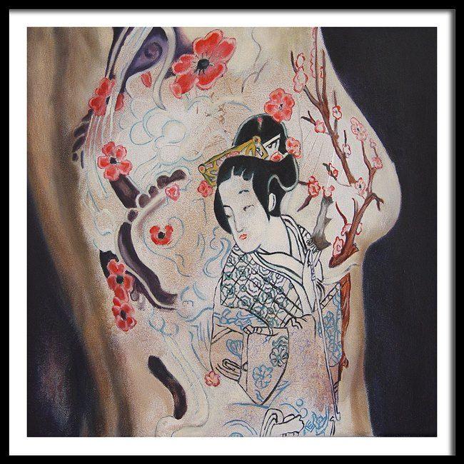 Yakuza oil on canvas 2015
