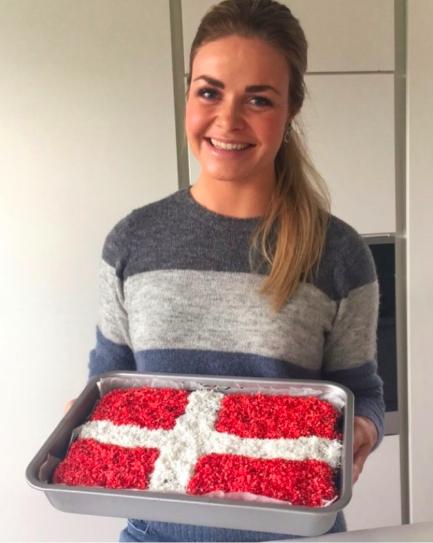 Bradepandekage // Chokoladekage // Klassenstime-kage - Ditte Julie Jensen #kageideer