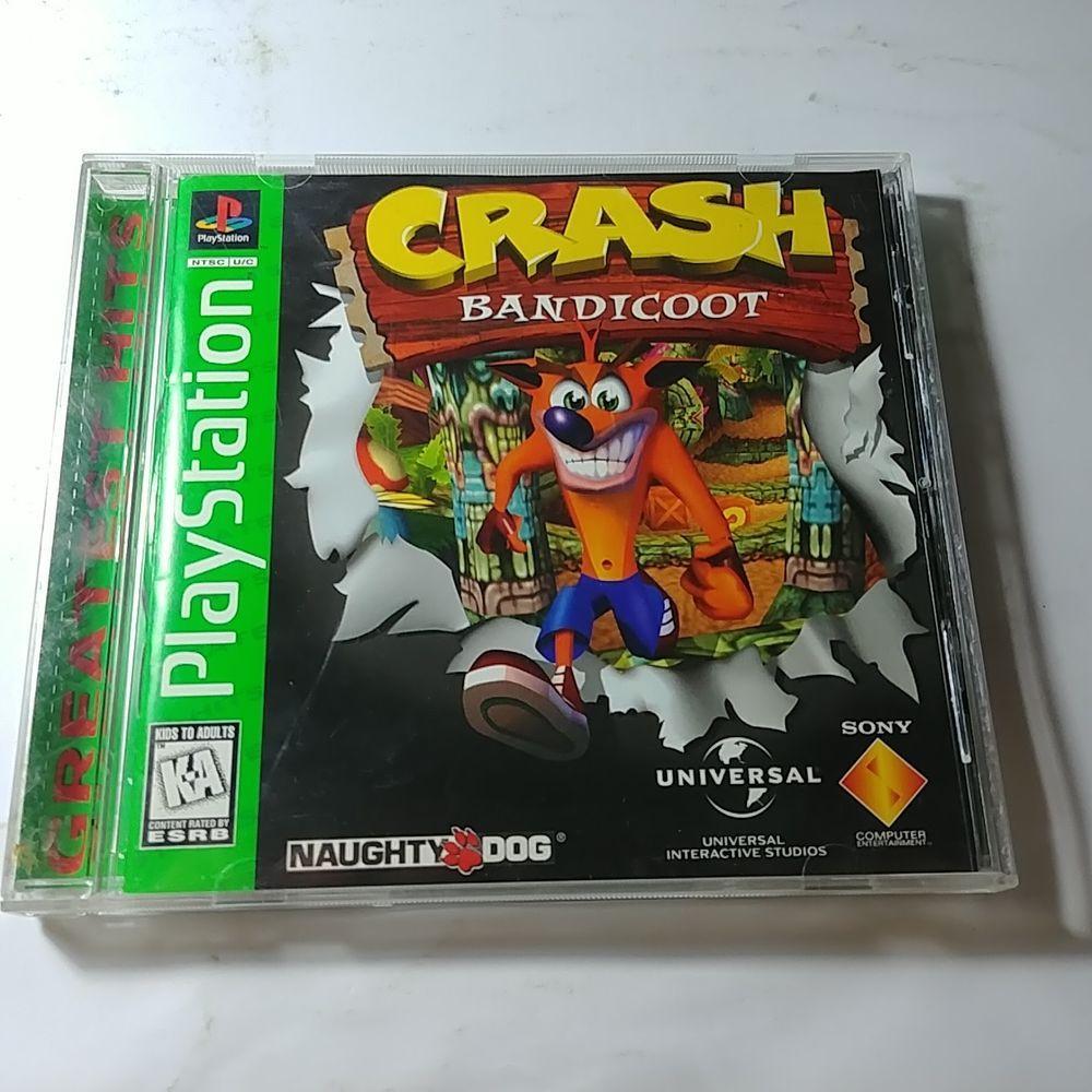 Crash Bandicoot Warped And Crash Bandicoot Playstation