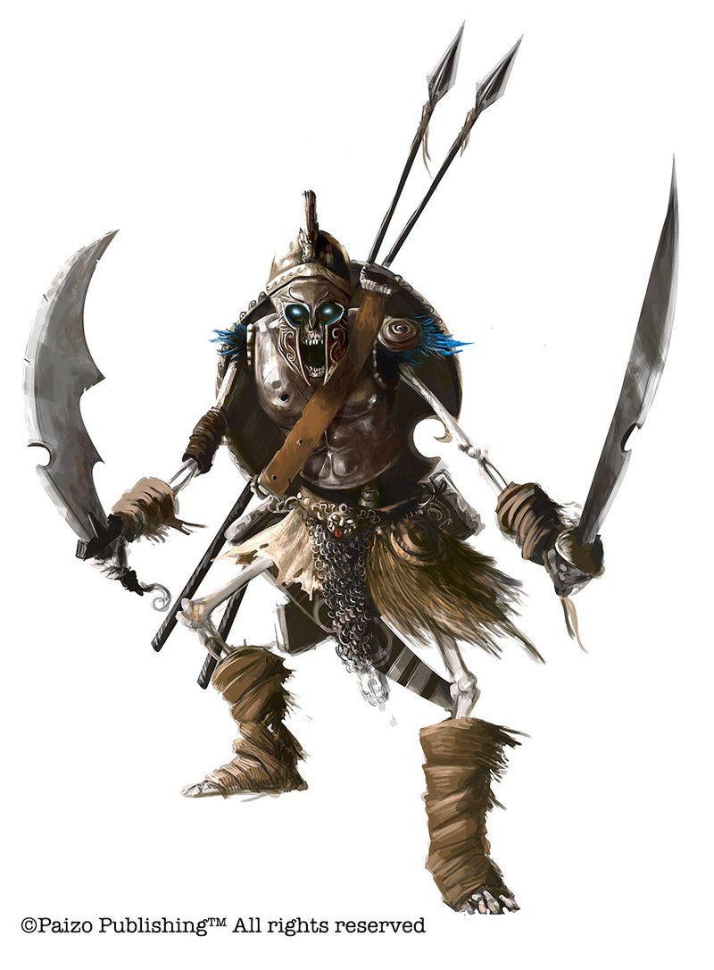 Image result for pathfinder human skeleton | RPGs | Skeleton