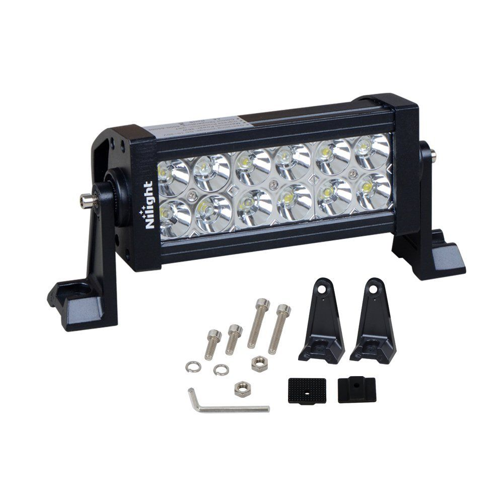 Big Deal Of Nilight Led Light Bar Buy Is To Earn Amazon Com Nilight 36w Led Spot Work Light Off Road Led Lig 12v Led Lights Off Road Led Lights Bar Lighting