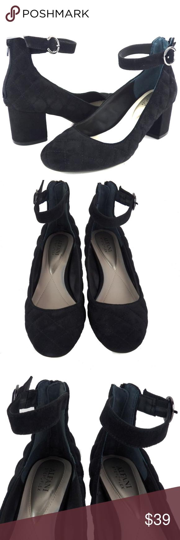 a55e04ec5b19 Alfani Ashiaa Ankle-Strap Shoes Alfani Women s Step  N Flex Ashiaa Ankle- Strap