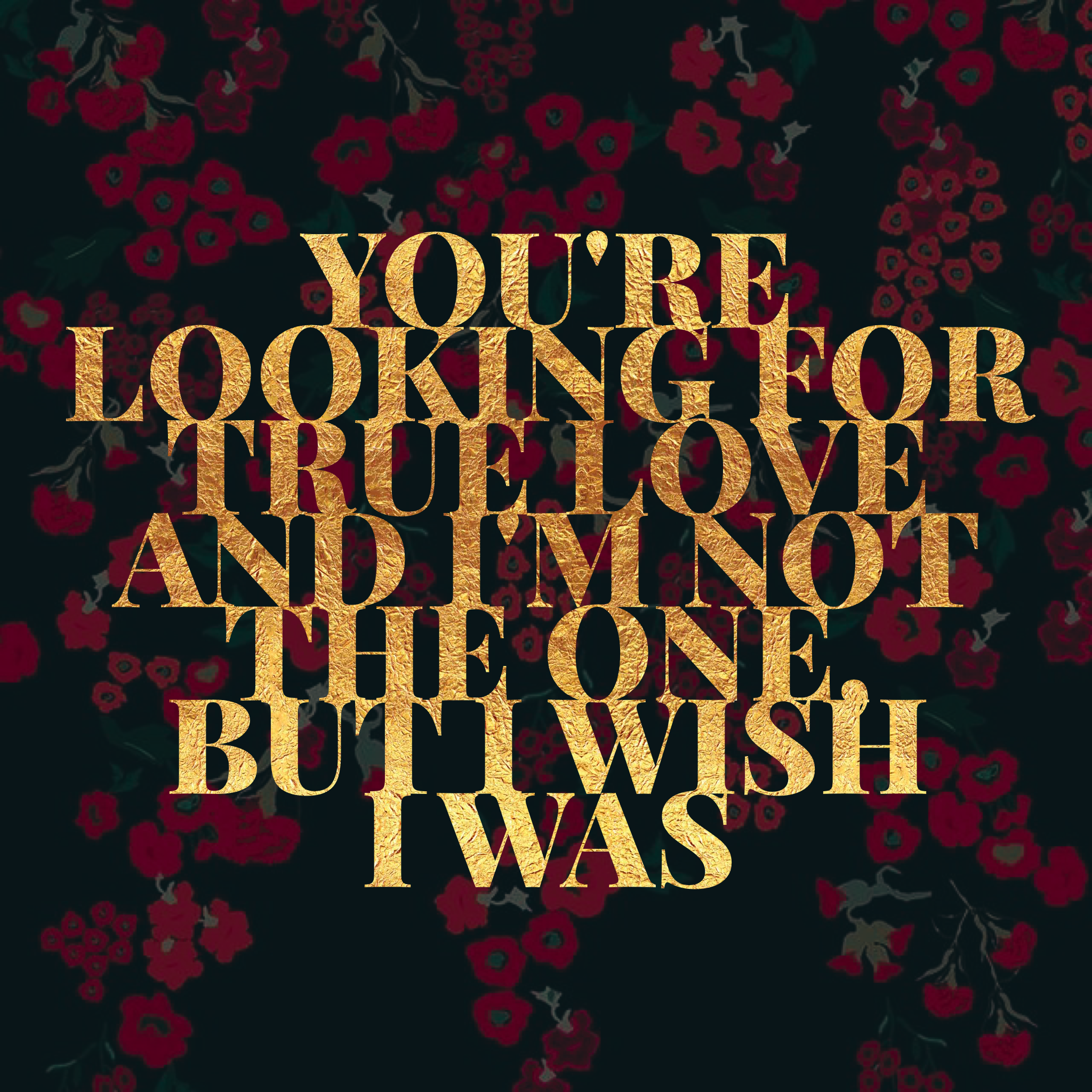 You're Looking For True Love (Maren Morris/ I Wish I Was