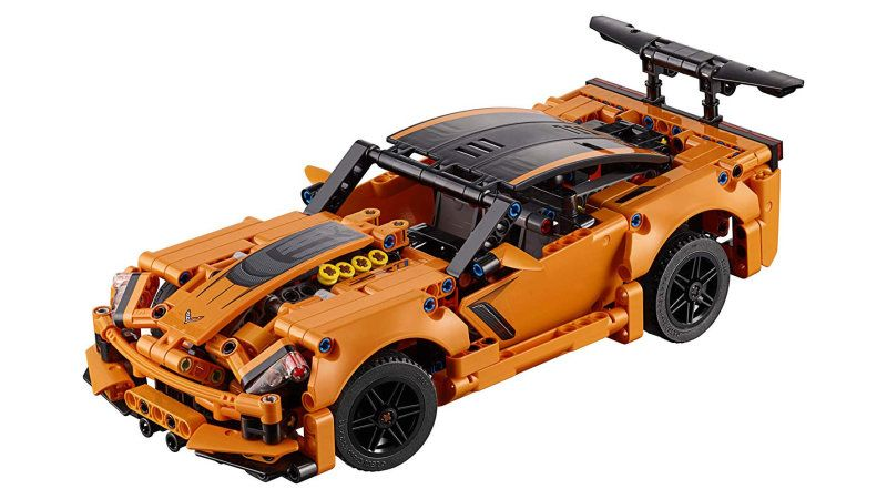 Lego Corvette Zr1 Technic Kit Is Your New Desk Corvette Corvette