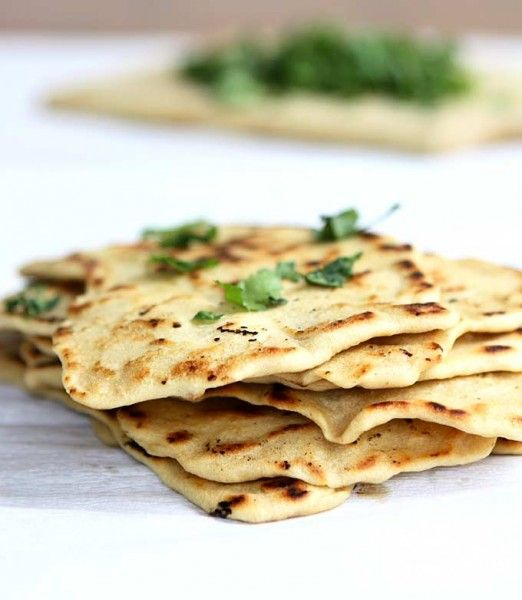 Quick Naan without Yeast | thekitchenpaper.com | Recipes ...