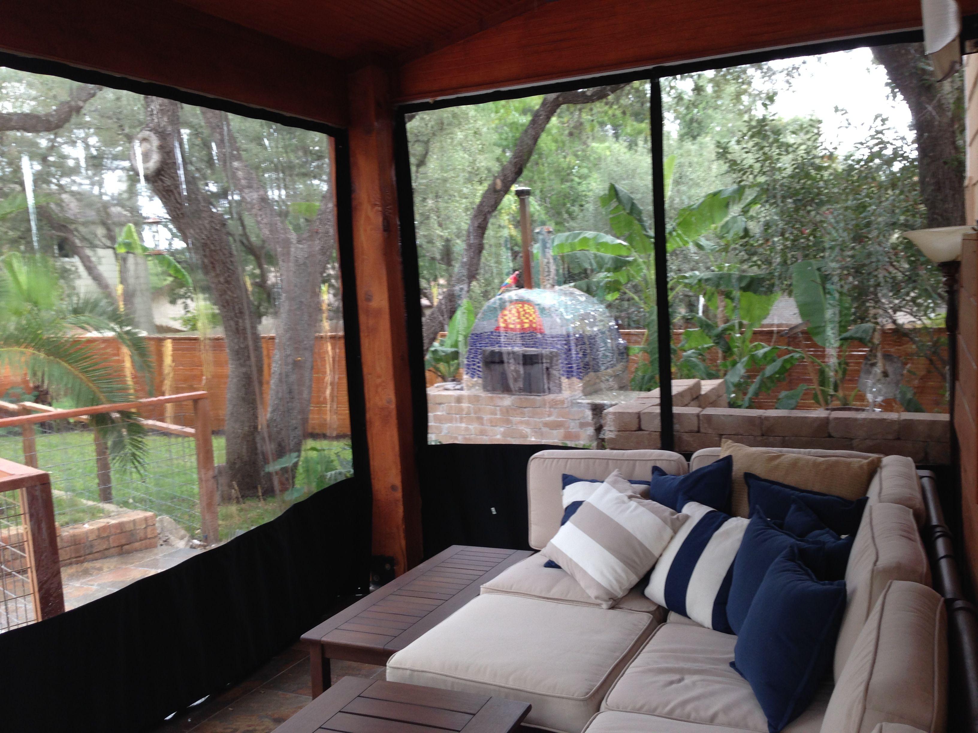 Custom Outdoor Patio Enclosure For Winter | Patio ... on Backyard Patio Enclosure Ideas  id=60100